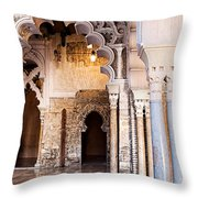 Columns And Arches No3 Throw Pillow