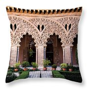 Columns And Arches No4 Throw Pillow