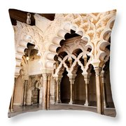 Columns And Arches No1 Throw Pillow
