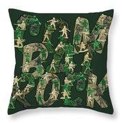 Combat Rock Throw Pillow