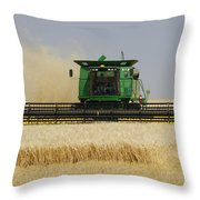 Combine Working A Field On The Throw Pillow