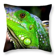 Come A Little Closer Throw Pillow