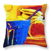 Come And Get It Throw Pillow