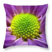 Come Closer - Digital Painting Effect Throw Pillow