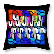 Come Day Go Day Throw Pillow
