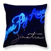 Come Fly Away On Broadway Throw Pillow