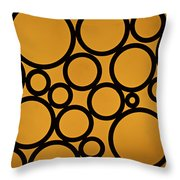 Come Full Circle Throw Pillow by Christi Kraft