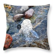 Come Gurgling Out Throw Pillow