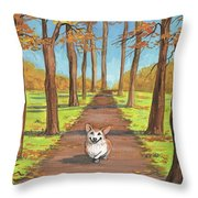 Come Here My Little Maple Leaf Throw Pillow