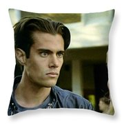 Come On Bobby Throw Pillow