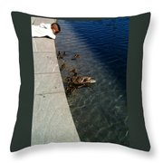 Come On Over Here  Throw Pillow