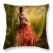 Come To Me In The Moonlight Throw Pillow