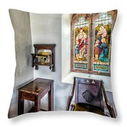 Come Unto Me Throw Pillow by Adrian Evans