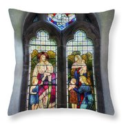 Come Unto Me Throw Pillow