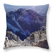 Come Visit Throw Pillow
