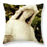 Spiritual Close Up Throw Pillow