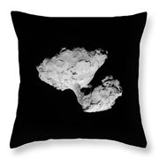 Comet Churyumov-gerasimenko Throw Pillow
