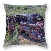Comet Mine Jalopy - Montana Throw Pillow