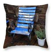 Comfort And A View Throw Pillow