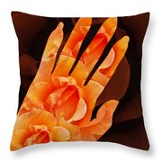Comfort Color Version Throw Pillow