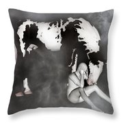Comfort Throw Pillow by Betsy Knapp
