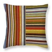 Comfortable Stripes Lx Throw Pillow