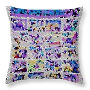 Comics Strip Abstract Throw Pillow