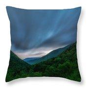 Comin Round The Mountain Throw Pillow