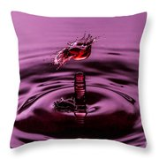 Coming Alive Throw Pillow