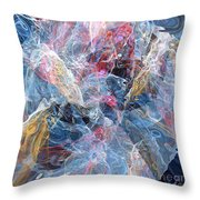 Coming Forth Throw Pillow
