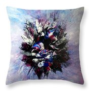 Coming From The Other Side Of Life Throw Pillow