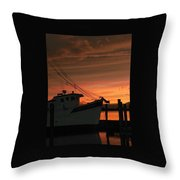Coming Home... Throw Pillow