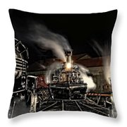 Coming In Tonight Throw Pillow