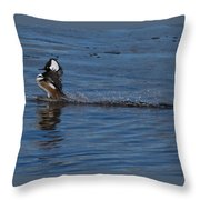 Coming In Too Hot Throw Pillow
