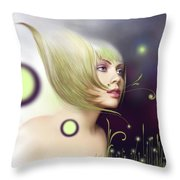 Coming Of Spring - Equinoxes Throw Pillow