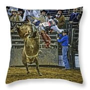 Coming Off Throw Pillow