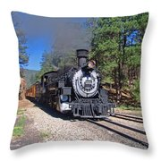 Coming Off The High Line Throw Pillow