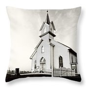 Coming Out Of The Mist Throw Pillow by Marcia Colelli