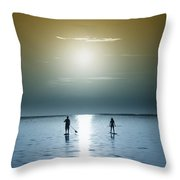 Coming Out Of The Sun Throw Pillow