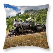 Coming 'round The Mountain Throw Pillow