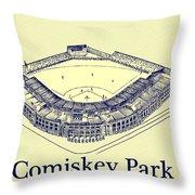 Comiskey Park 1910 Throw Pillow