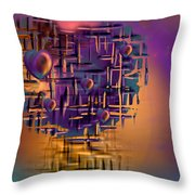 Command Central Throw Pillow