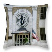 Commercial Bank And Trust Throw Pillow