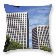 Commercial Office Building Throw Pillow