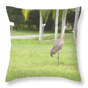 Comming  Throw Pillow