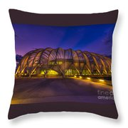 Committed To Learning Throw Pillow