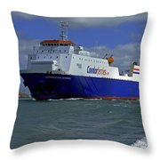 Commodore Goodwill Throw Pillow