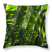 Common Beauty Throw Pillow