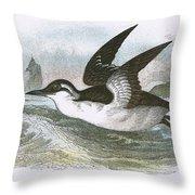 Common Guillemot Throw Pillow