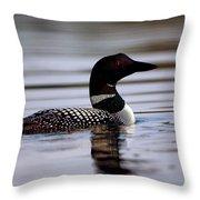 Common Loon 8 Throw Pillow